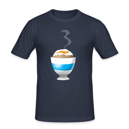 Boiled Egg - Men's Slim Fit T-Shirt