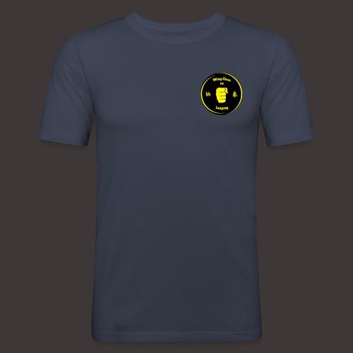 Logo Kampfkunstschule Leipzig - Männer Slim Fit T-Shirt