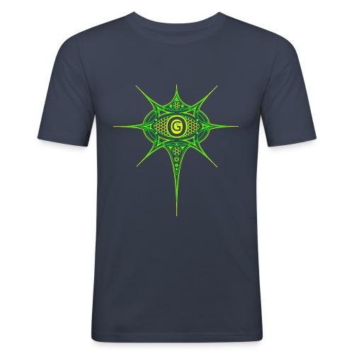 ogulogofarbebenen - Männer Slim Fit T-Shirt