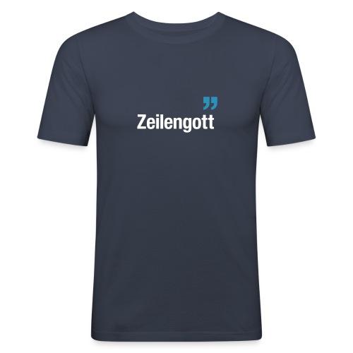 asa zeichen - Männer Slim Fit T-Shirt