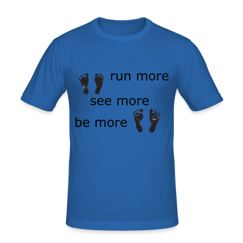 Run Collection - Slim Fit T-skjorte for menn