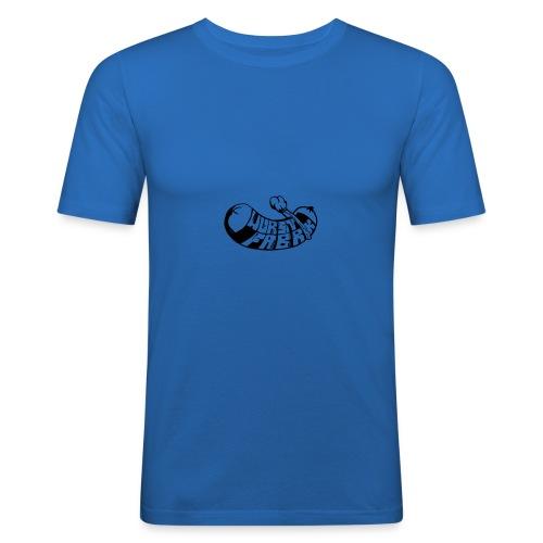 Wurstfabrik Logo - Männer Slim Fit T-Shirt