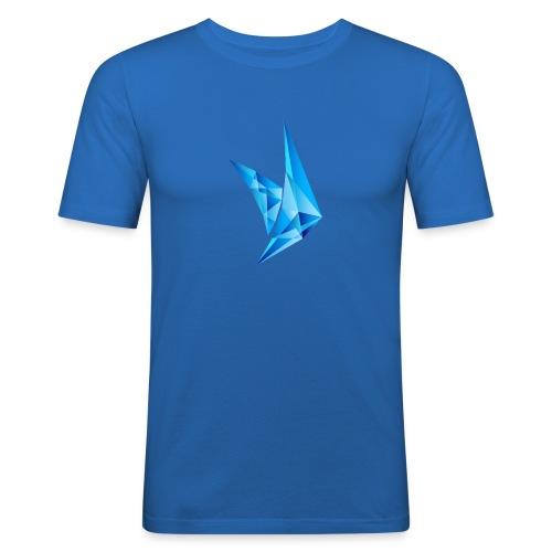 PPE Logo - Männer Slim Fit T-Shirt