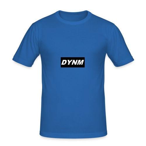 DYNM black/white - Männer Slim Fit T-Shirt