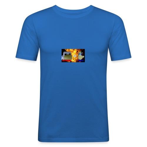 TGCHICKEN VS POLLO - Maglietta aderente da uomo