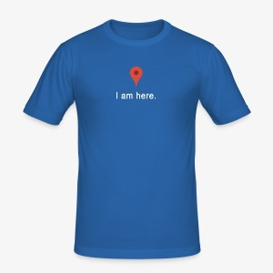 I Am Here - Slim Fit T-shirt herr