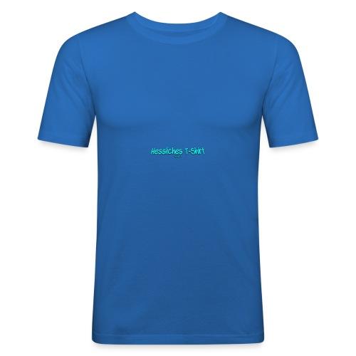 Hessliches T-shirt - Männer Slim Fit T-Shirt