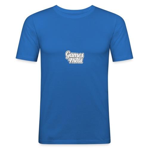 Games4Real - slim fit T-shirt