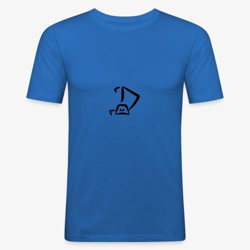 Strandkorb Logo - Männer Slim Fit T-Shirt