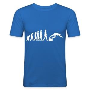 SWIMMER'S EVOLUTION - Maglietta aderente da uomo