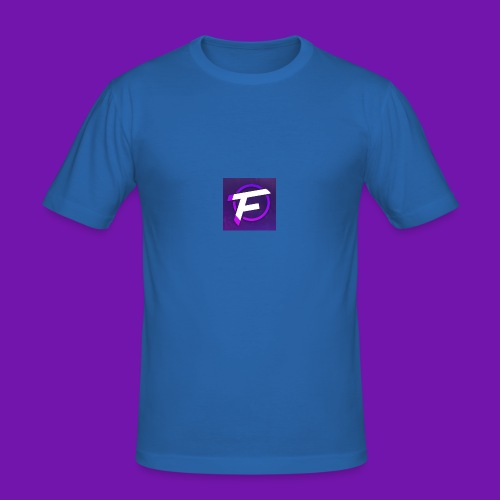 Flux Clan Logo - Men's Slim Fit T-Shirt