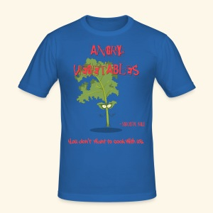 Sarcastic kale - Men's Slim Fit T-Shirt