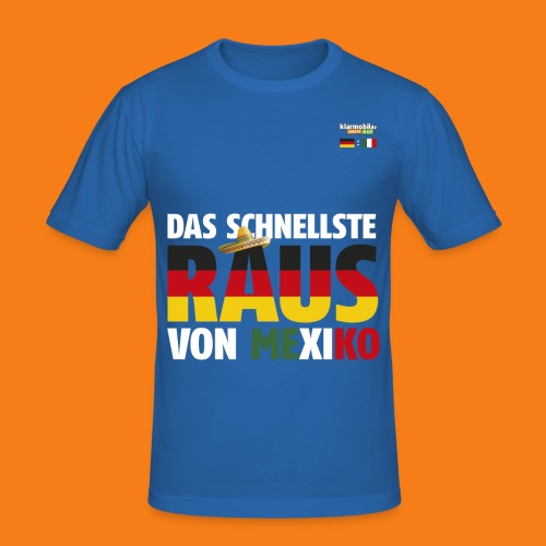 Mexiko Shirt - Männer Slim Fit T-Shirt