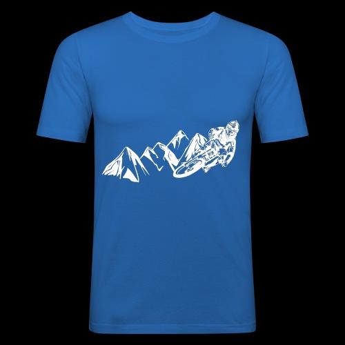 Downhill/ Freeride/ Dirt/ BMX - Männer Slim Fit T-Shirt