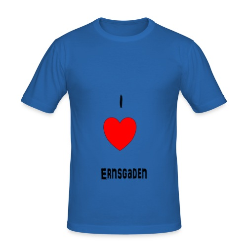 love ernsgaden - Männer Slim Fit T-Shirt