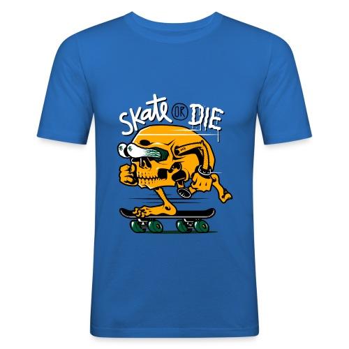 skate or die - Maglietta aderente da uomo