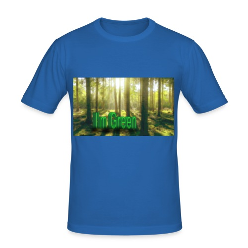 I'm Green. - Slim Fit T-shirt herr