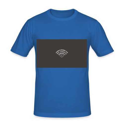 HOME IS WHERE THE WIFI CONNECTS AUTOMATICALLY - Herre Slim Fit T-Shirt