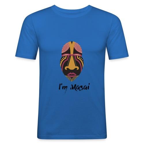 Masai - Maglietta aderente da uomo