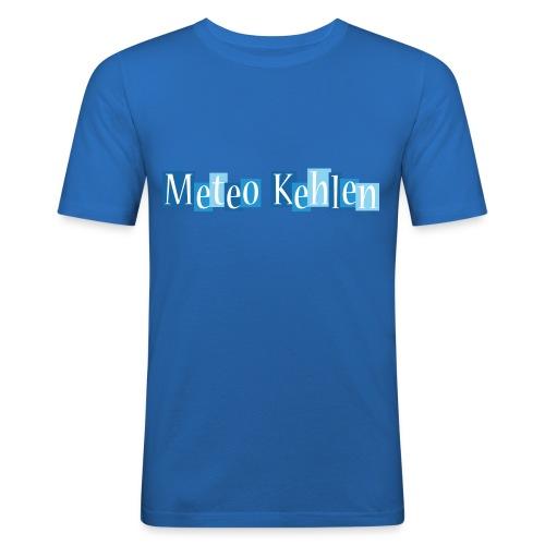 mk logo 3 - Männer Slim Fit T-Shirt