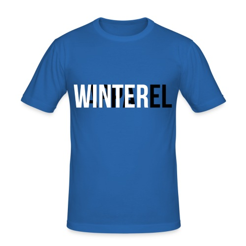 Winter Apparel Logo - Herre Slim Fit T-Shirt