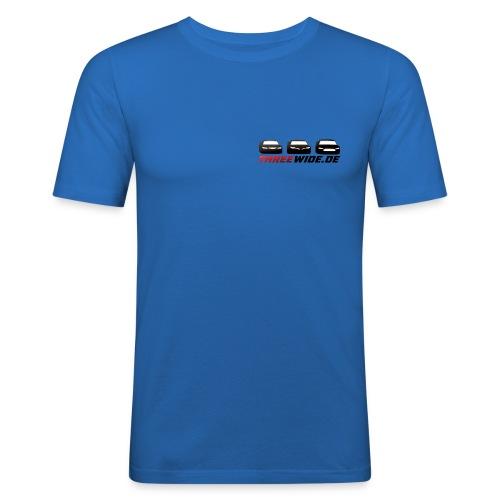 Threewide - Männer Slim Fit T-Shirt