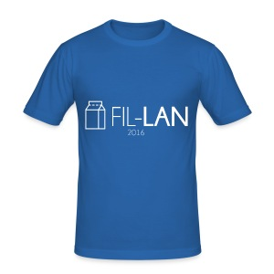 Fil-LAN - Slim Fit T-shirt herr