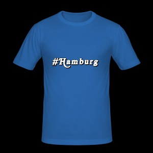 #Hamburg - Männer Slim Fit T-Shirt