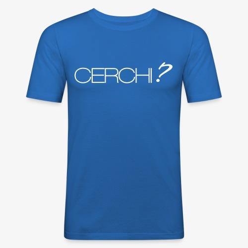 cerchi - Men's Slim Fit T-Shirt