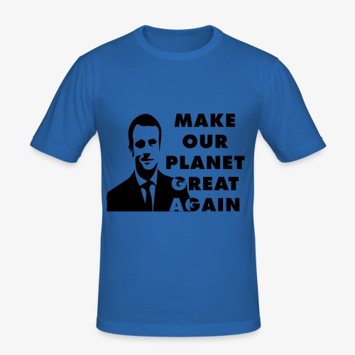 Make our planet great again - T-shirt près du corps Homme