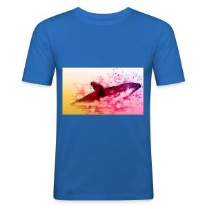 LowpolyWhale - Tee shirt près du corps Homme