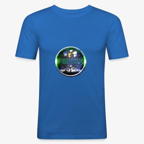 PRIMON Logo - Männer Slim Fit T-Shirt