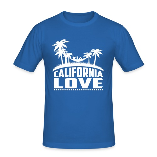 California Love - Männer Slim Fit T-Shirt
