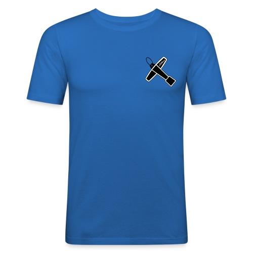 Drum Key Design - T-shirt près du corps Homme