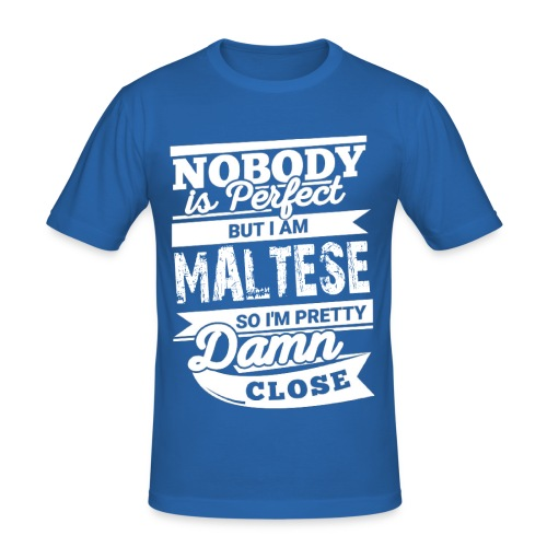 maltese - Slim Fit T-shirt herr