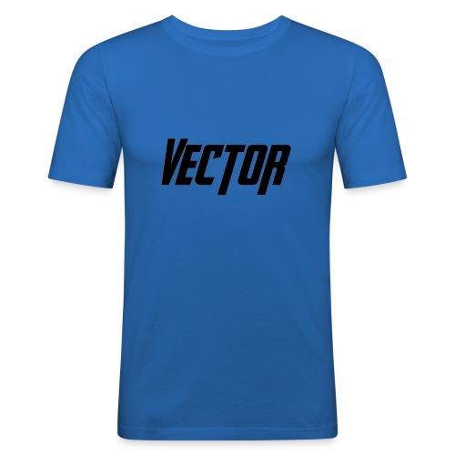 Vector Logo - Maglietta aderente da uomo