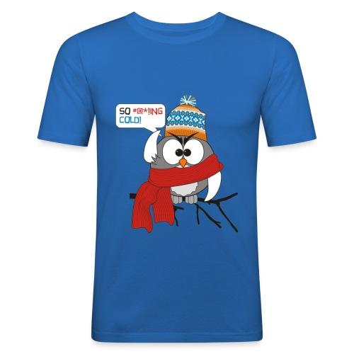 Cold bird - Miesten tyköistuva t-paita