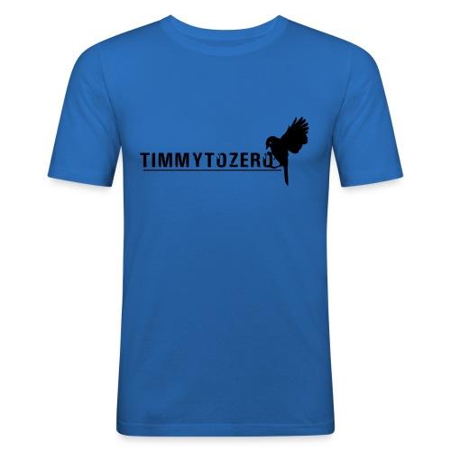 Timmy Bird - Männer Slim Fit T-Shirt