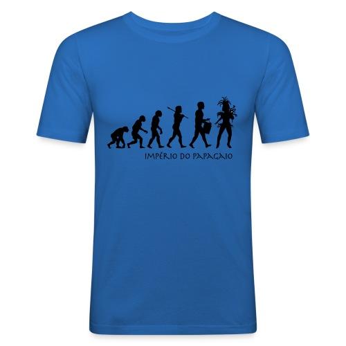 The Evolution of Samba - Miesten tyköistuva t-paita