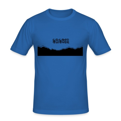 OROBIE SKYLINE - Maglietta aderente da uomo