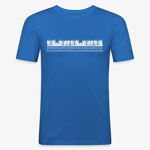 IHAC 20YRS Celebration Shirt - Männer Slim Fit T-Shirt