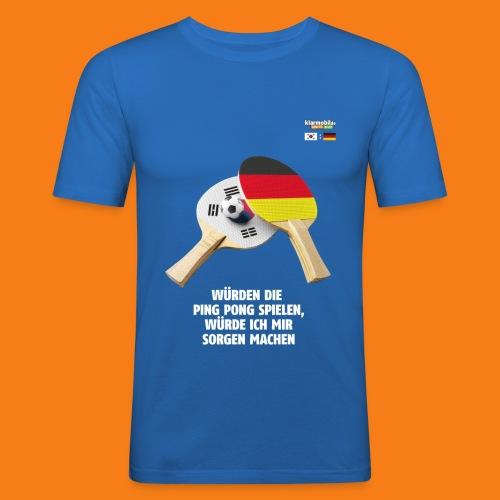 Korea Shirt - Männer Slim Fit T-Shirt