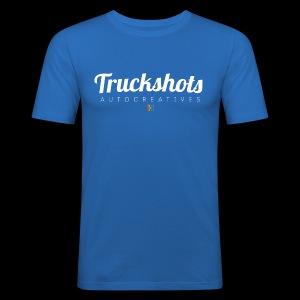 logo with small pistols RGB - Men's Slim Fit T-Shirt