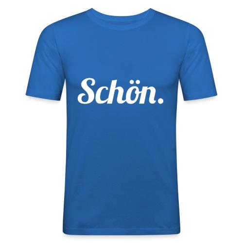 schoen - Männer Slim Fit T-Shirt