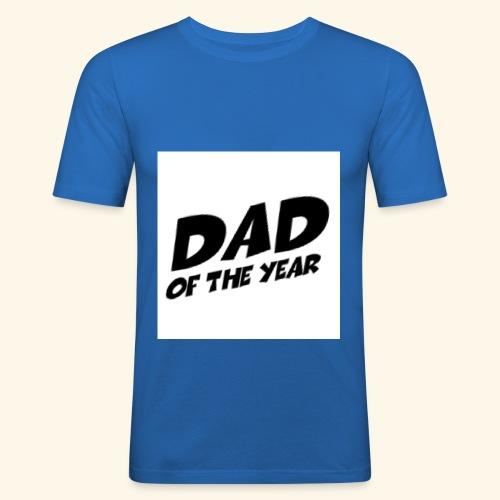 Årets pappa - Slim Fit T-skjorte for menn