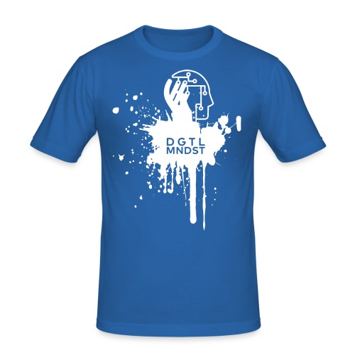 DGTL MNDST - Männer Slim Fit T-Shirt