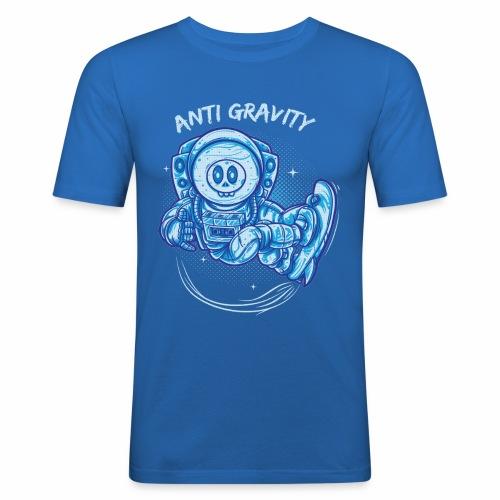 anti gravity space surfing - Männer Slim Fit T-Shirt