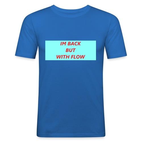IM Back design - Männer Slim Fit T-Shirt