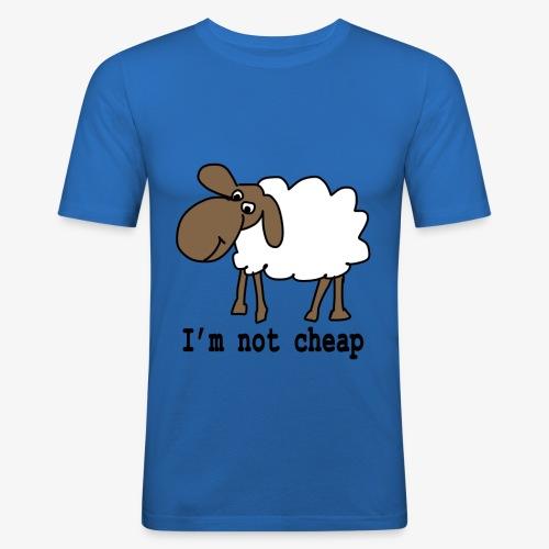 I am not cheap - Men's Slim Fit T-Shirt