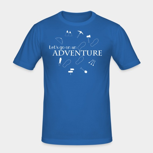Let's go on an adventure! - Men's Slim Fit T-Shirt